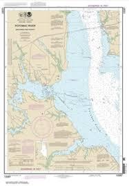 12287 Potomac River Dahlgren And Vicinity Nautical Chart