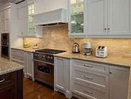 Small Picture Kitchen Backsplash With White Cabinets Tile Backsplash And White