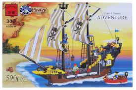 пиратский корабль Adventure за 1100 рублей