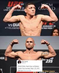 UFC - Nick Diaz is back! It's official ...