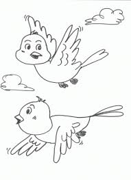Small Picture Bird coloring pages for free