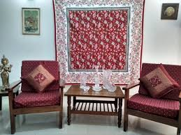 tapestry red wall hanging