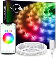NiteBird Smart WiFi LED Strip Lights 16.4ft Works with ... - Amazon.com