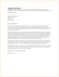 Collection Of Solutions Sample Cover Letter For Publishing Company