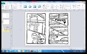 Ms Publisher Lesson Plans Tutorial Using Microsoft Publisher To Make A Mini Comic Making