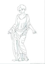 Coloring Pages Aphrodite Coloring Page Pages Greek Goddess