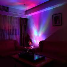 relaxing lighting. Diamond Shaped Aurora Projection Relaxing Light Show Led Night Lamp Music Speaker - Blue / Lighting