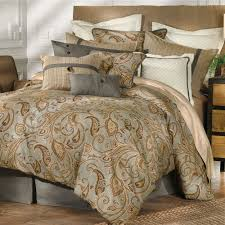 Bedroom Wonderful Decorative Bedding Design With Cute Paisley Photo  Remarkable Blue Brown Luxury Of Teen Comforter ...