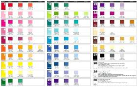 Food Coloring Chart For Water Food Coloring Blending Chart Allurepaper Co