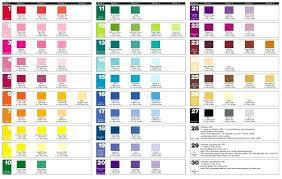 Food Coloring Blending Chart Allurepaper Co
