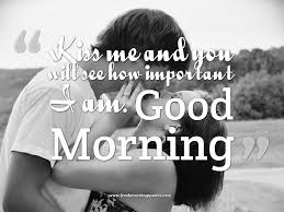 Good Morning Kiss Quotes