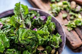 kale and other cruciferous vegetables are good sources of vitamin k