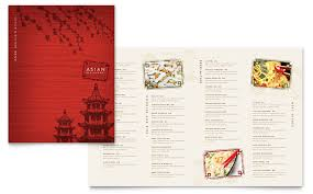 Word Restaurant Menu Templates Asian Restaurant Menu Template Word Publisher