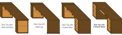 desk components for home office. Custom Home Office :. Desk Components For O