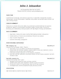 Sample Resumes In Word Resume Format In Word Free Download Azizim Co
