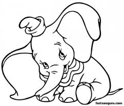 Small Picture Printable coloring pages Dumbo Shy Disney Characters Printable