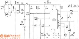 Automatic Control Automatic Control Circuit For Generator Starting Battery