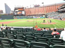 Oriole Park At Camden Yards Section 46 Home Of Baltimore
