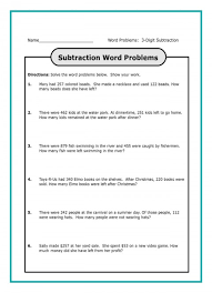 two step addition and subtraction word problems worksheets 3rd for grade printable pdf 1280x1772 frightening math
