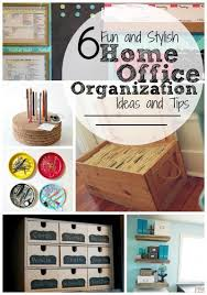 home office organization ideas. 6 Fun And Stylish Home Office Organization Ideas Tips | Tipsaholic.com #
