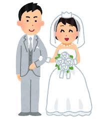 新郎新婦・花嫁花婿のイラスト   かわいいフリー素材集 いらすとや