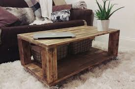 Pallet Wood Coffee Table Series  Knotthead Nate Custom Pallet Coffee Table Pinterest