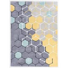 yellow and grey modern rug modern carpet m13 carpet