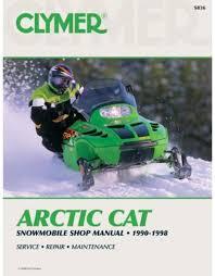 clymer arctic cat service manual s836