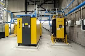 Air Compressor Room Design Boeing Canada Winnipeg Recognized For Compressed Air Project