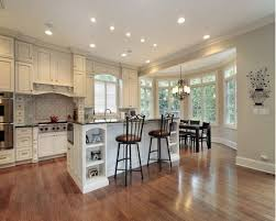 White Cabinet Kitchen Travertine Tile Top Hardwood Kitchen Cabinets Kitchen Backsplash
