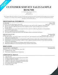 Resume For Customer Service Representative Inspiration This Is Customer Service Representative Resume Goodfellowafbus