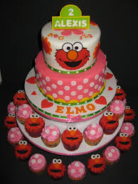 Pictures Of Elmo Birthday Cakes