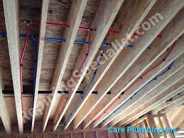 plumbing with pex pipes