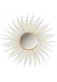 36 gold sunburst circular metal