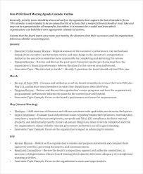 6 Examples Of Nonprofit Agendas Examples