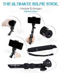 Lifestyle Designs Selfie Stick Lifestyle Designs Hd Selfie Stick W Amazon In Electronics