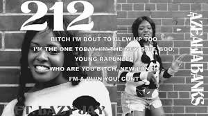 Azealia Banks - 212 (feat. Lazy Jay) Lyrics - YouTube