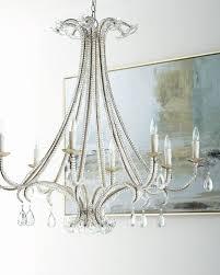 glass chain chandelier