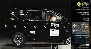 Toyota Innova Crysta scores 4/5 in ASEAN NCAP crash test