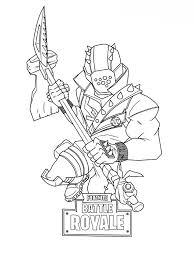 Kids N Funcom Coloring Page Fortnite Master Grenadier