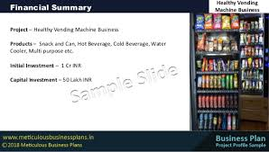 Healthy Vending Machine Business Delectable Healthy Vending Machine Business