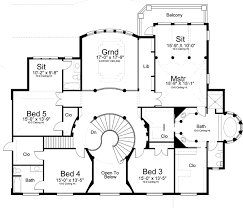 georgian house plans. Georgian Style House Plans - 5699 Square Foot Home , 2 Story, 5 Bedroom And