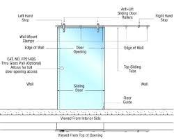 sliding glass doors in plan. Exellent Sliding Sliding Glass Doors In Plan Best Of Door Floor Fancy  L