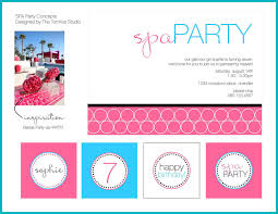 spa birthday party invitations printable home party ideas kids spa party invitations spa birthday party invitations printables