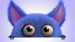 cute wallpapers for desktop 3d. Delighful For Download Wallpaper 3d Funny Monster Cartoon Cute Fluffy  Character Rendering Resolution 2560x1440 For Cute Wallpapers Desktop 3d A