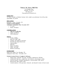 ... Medical Assistant RESUME. Tristan M. Jones, NRCMA 5316 Sputnik Drive  Memphis, TN 38118 901-550 ...