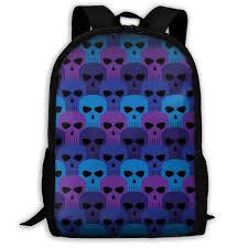 Backpack Graphic Design Amazon Com Skull Pattern Comic Style Skull Graphic Design