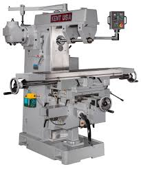 tips for buying your first milling machine hackaday notice how the overhead arm of the horizontal milling machine braces the spindle arbor on both