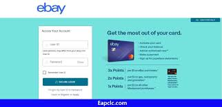 Up to 5x points on ebay, but. Ebay Credit Card Login Guide And Payment Explained Eapclc Com