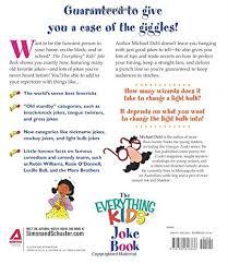 the everything kids joke book side splitting rib tickling fun michael dahl 9781580626866 amazon books